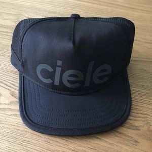 Ciele Athletics black coolwick hat